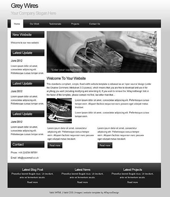 blog,business,computers,personal,portfolio website template