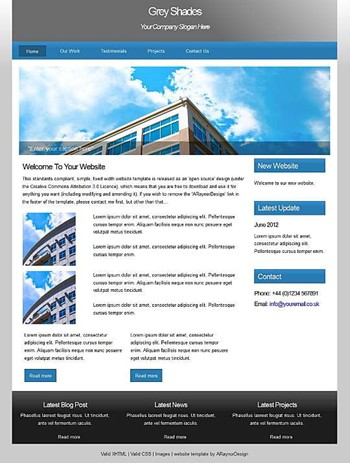 blog,business,corporate,personal,portfolio website template