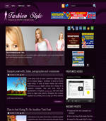 Fashion Style - Fashion Wordpress Themes