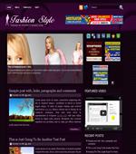 Fashion Style - Fashion Wordpress Themes