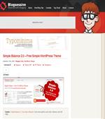 Simple Balance Free Wordpress Theme