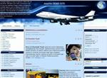 Free Air Plane Travel Blue Joomla Theme