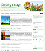 Healthy Lifestyle - Health Wordpress Themes