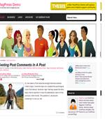 Datestar - Magpress Free Dating Wordpress Theme