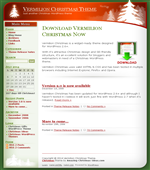 Vermilion Christmas Theme - Free Wordpress Theme