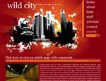 Wild City by Outsider Web Template